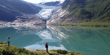 Svartisen Gletscher
