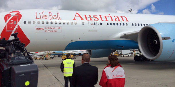 Life Ball 2014: Der Austrian-Jet