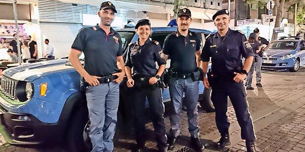 Austro-Cops gegen Sauftouristen