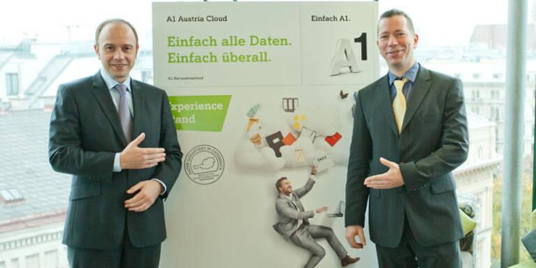 """A1 startet jetzt die """"Austria Cloud"""""""
