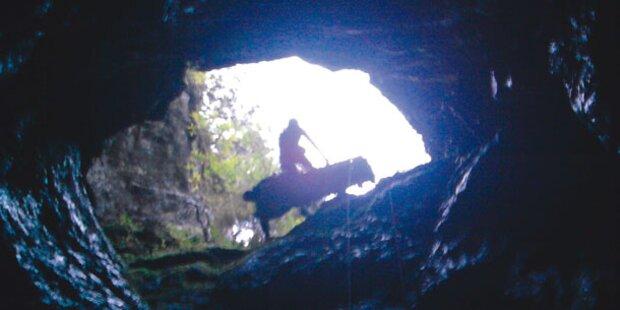 Ehepaar aus Fels-Schacht gerettet