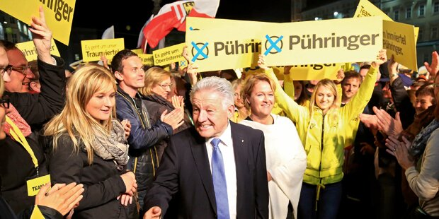 Vor Polit-Beben in Oberösterreich