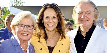 Prominente Schifffahrt: Sissi Pröll lud zum Charity-Cruise