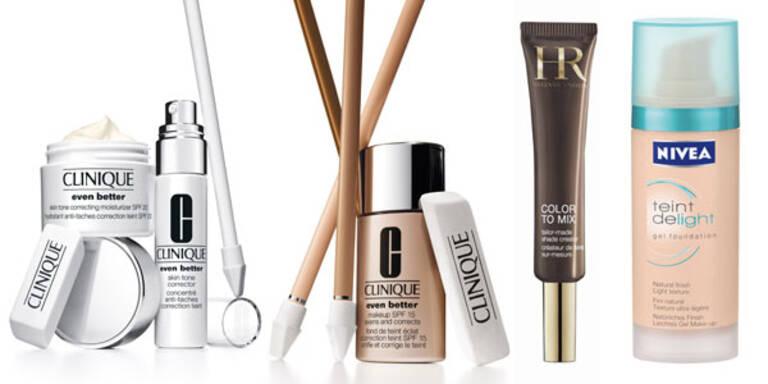 Pflege und MakeUp gegen Pigmentflecken