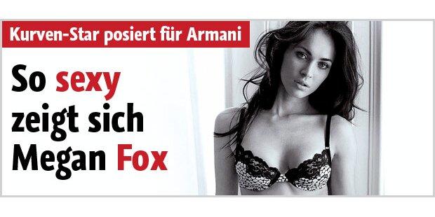 So sexy zeigt sich Megan Fox