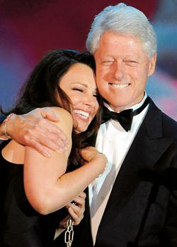 Fran Drescher und Bill Clinton bei Life Ball 2009