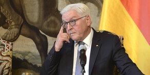 Grüne & FDP: Krisen-Gipfel bei Präsident