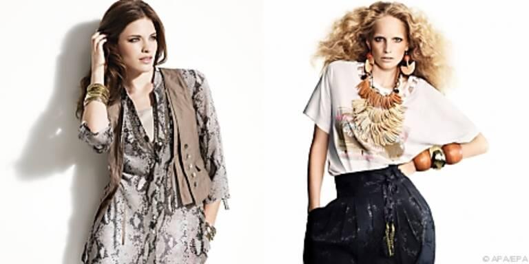 Frank Walder und H&M: Khaki, Sand und Pastell
