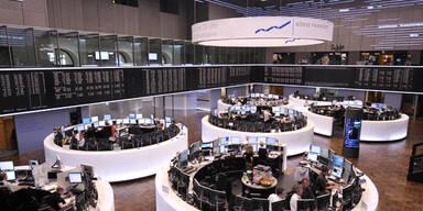 Europas Leitbörsen einheitlich mit Verlusten