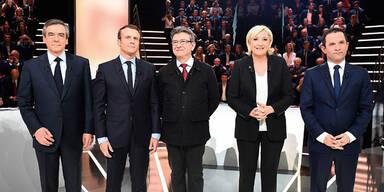 Frankreich Wahl Le Pen