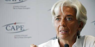 Frankreichs Finanzministerin Christine Lagarde