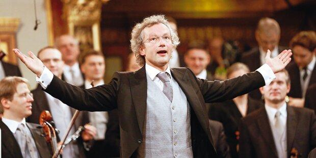 Welser-Möst: 1. Auftritt nach dem Opern-Aus