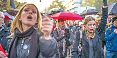 Frauen Demo