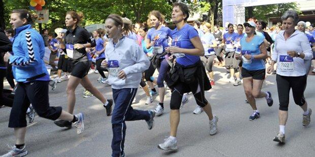 Mega-Erfolg beim 27. Frauenlauf