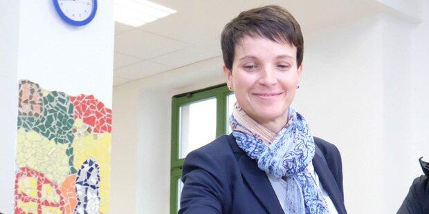 Frauke Petry attackiert Grüne & SPD