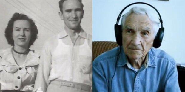96-Jähriger mit Lovesong zum YouTube-Hit