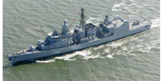Frankreich schickt Fregatte vor Gaza