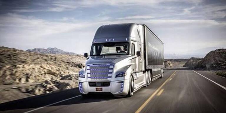Daimler lässt die Roboter-Trucks frei