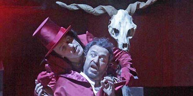 Freischütz: So kalt ist es im Opern-Wald