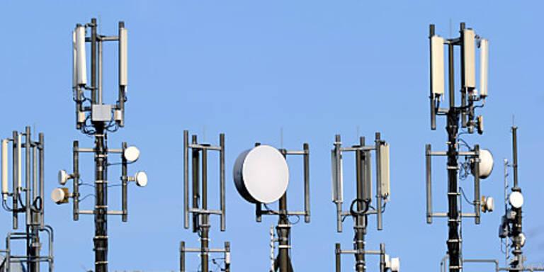 Frequenzen für Telekomunternehmen