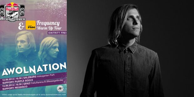 Awolnation heizt Frequency an