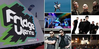 Fridge-Festival rockt die Wiener Donauinsel