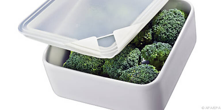 Frischhaltebox aus Porzellan mit Aromadeckel