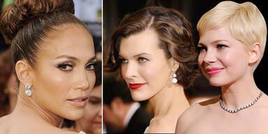 Die Oscar-Frisuren 2012