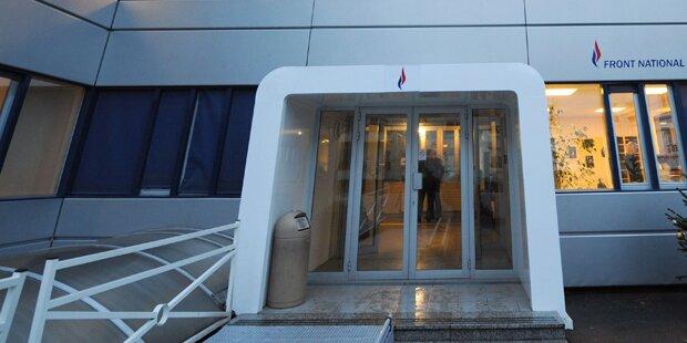 Polizei durchsuchte Front-National-Zentrale