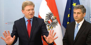 Stefan Füle Michael Spindelegger EU-Erweiterungskommissar Außenminister