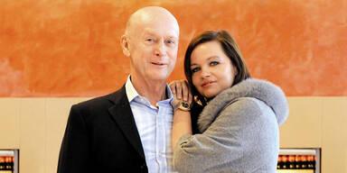 Kurt Mann mit Verlobten Joanna Szyndal