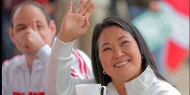 Präsidentschaftswahl in Peru: Rechtspopulistin Fujimori führt knapp