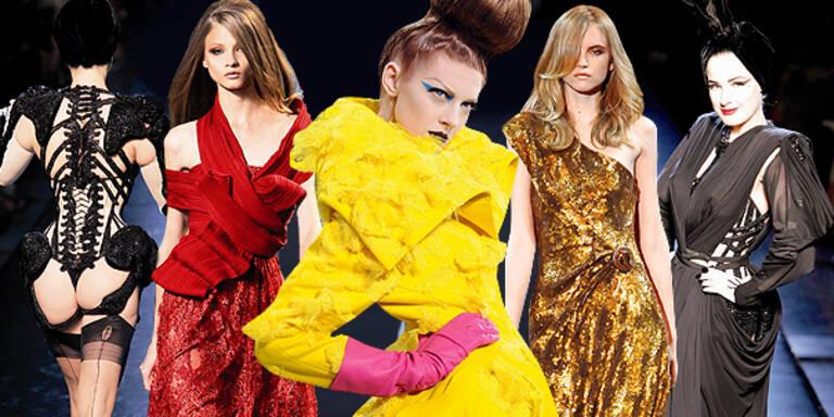 Fulminanter Abschluss in Paris Fashion Week Haute Couture