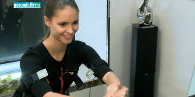 Trainieren mit den Stars: Miss Austria