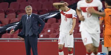 Türkei entlässt Teamchef Günes