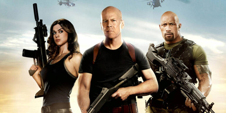 Bruce Willis stürmt mit G. I. Joe Kinos