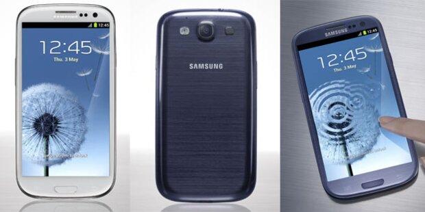 Galaxy S3 in Österreich vorbestellbar