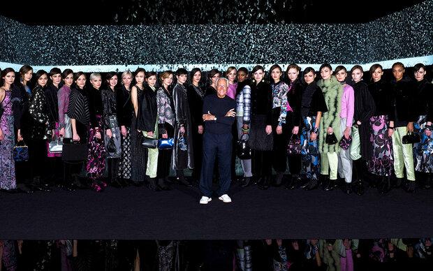 Giorgio Armani: Stille Eleganz im leeren Teatro