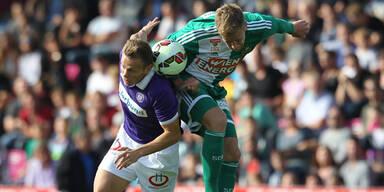 2:2! Austria verspielt Sieg gegen Rapid