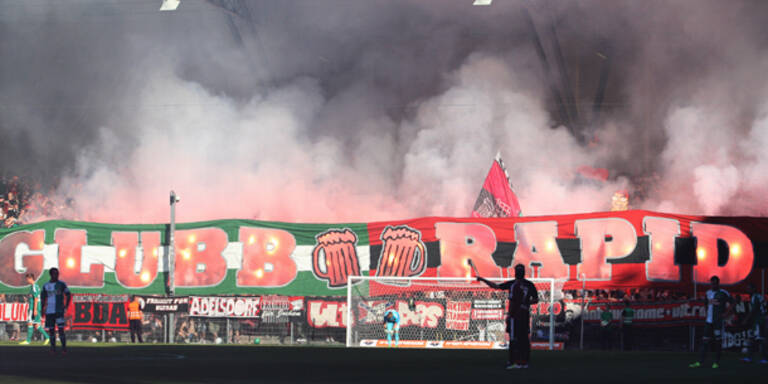 Nach Randalen: 47 Rapid-Fans angeklagt