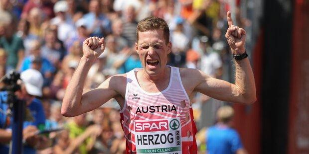 Österreichs Marathon-Läufer holen EM-Medaille