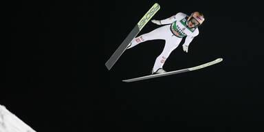 Österreichs Skispringer wieder schwer geschlagen