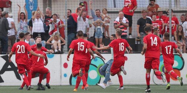 Polster wirft mit Wiener Viktoria Bundesligisten raus