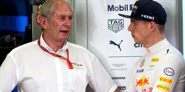 Red-Bull-Schelte für Max Verstappen