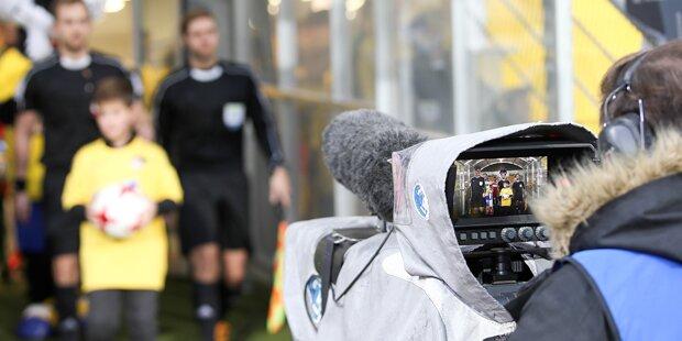 TV-Ärger: ORF sauer auf die Bundesliga