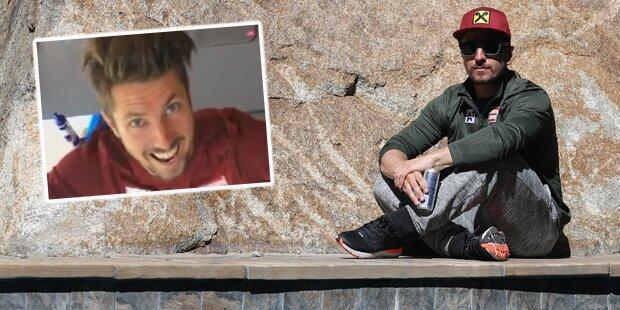 Wahnsinn: Hirscher verblüfft mit Video