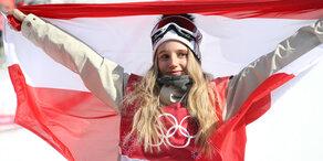 Wahnsinn: Anna Gasser fliegt zu Gold