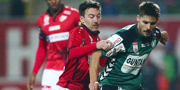 1:1 gegen St. Pölten: Ried vor Abstieg