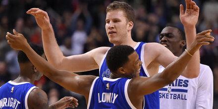 Rekord-Nacht: Pöltl zeigt in NBA auf