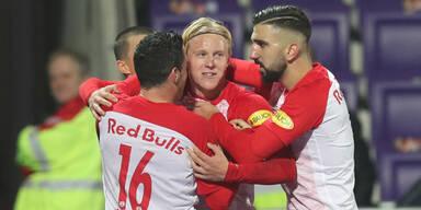 Red Bull Salzburg gegen Sturm Graz